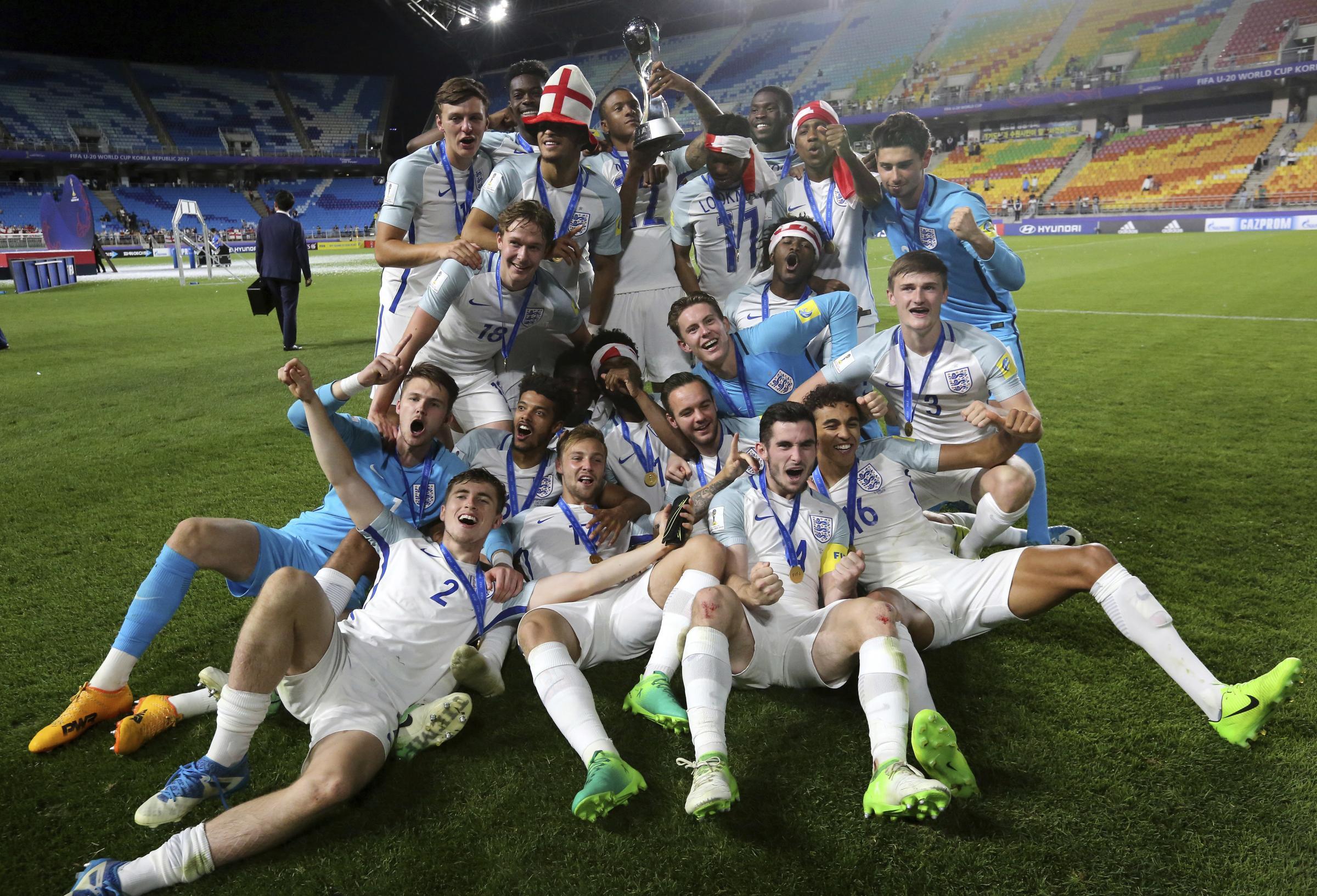 England Wins FIFA U20 World Cup